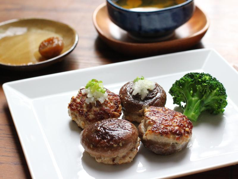 乾煎香菇鑲肉・豐年農場