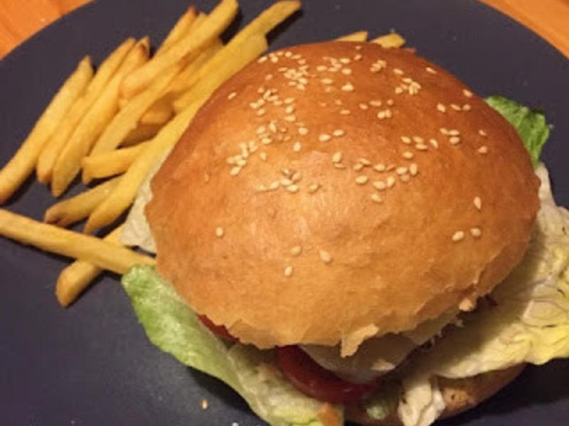 漢堡麵包   手工漢堡