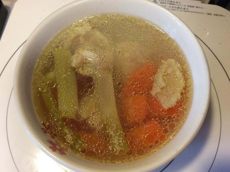 胡蘿蔔雞肉湯(電鍋版)