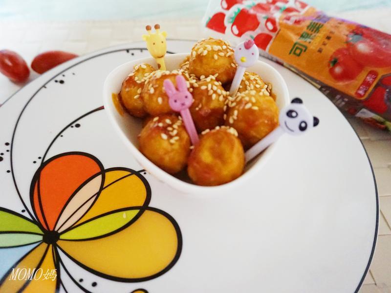 糖醋鵪鶉蛋~蕃茄醬懶人料理