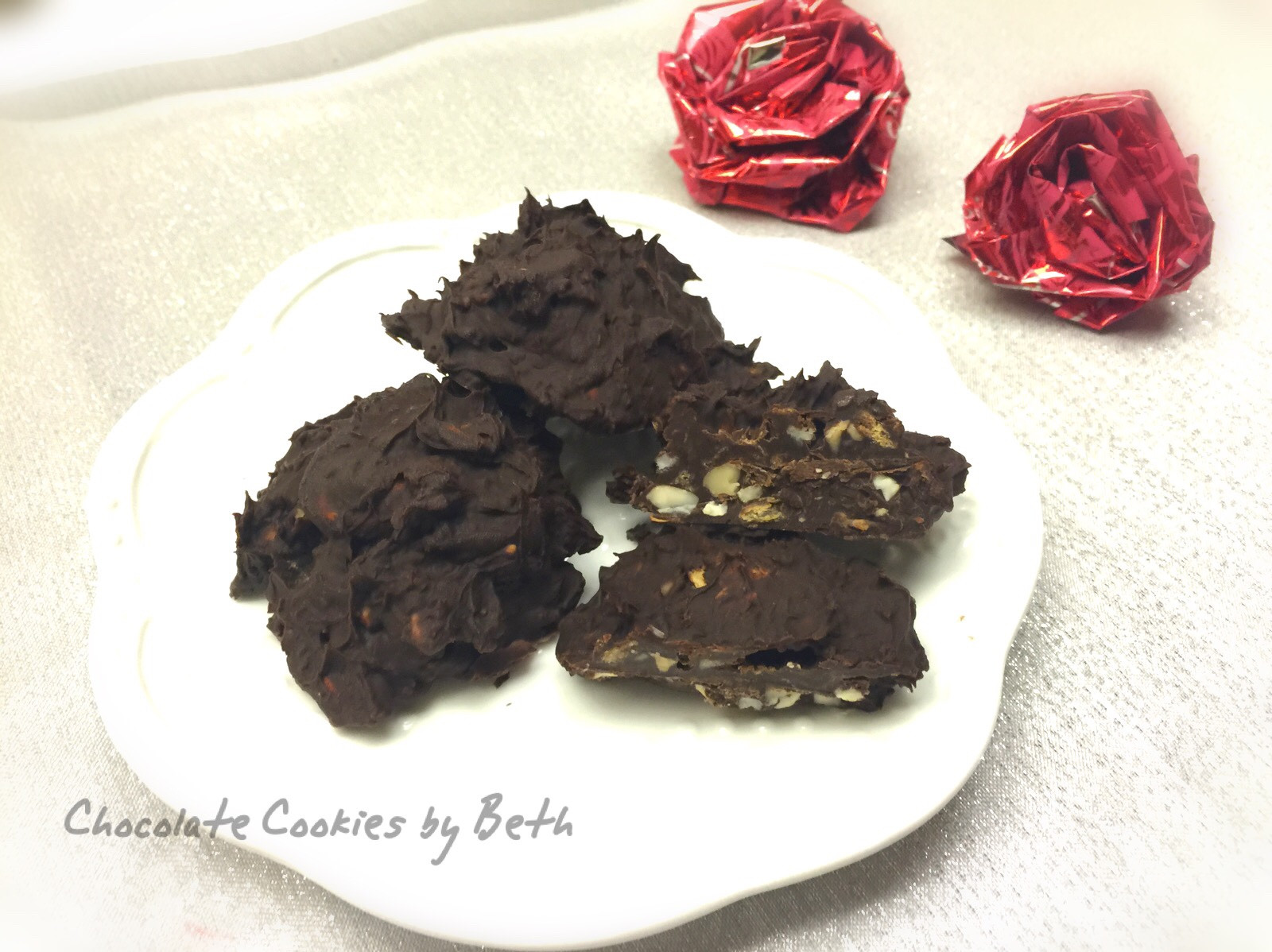 巧克力餅乾 - 免烤