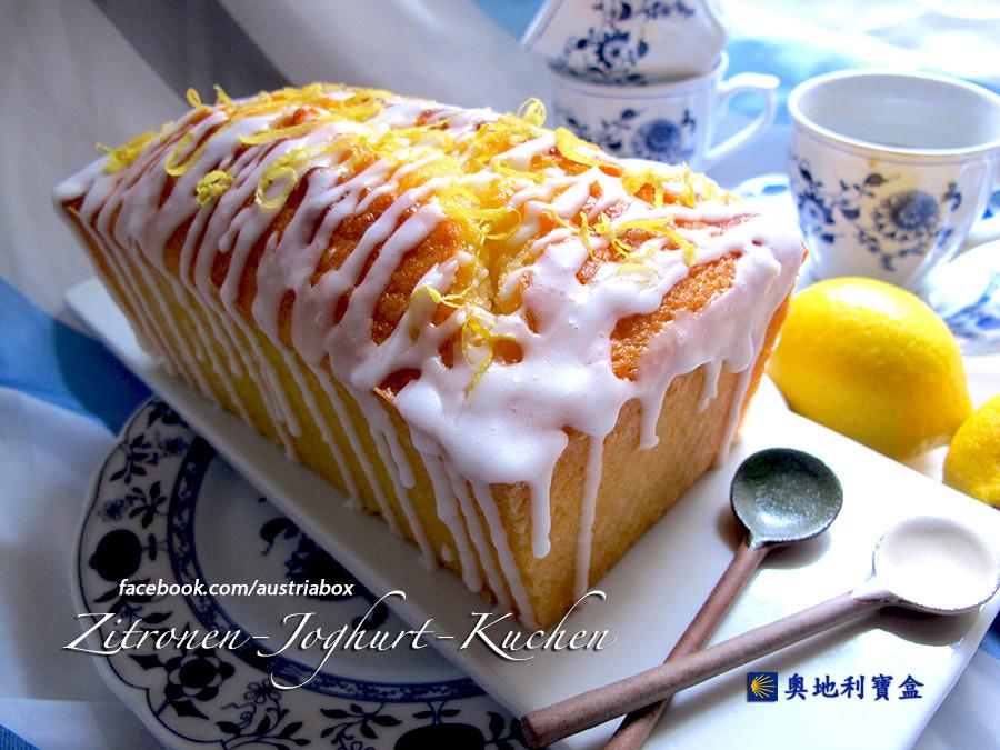檸檬優格磅蛋糕