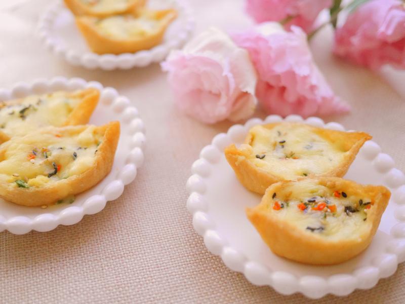 焗烤香蔥雞蛋豆皮盅[Pulmuone]