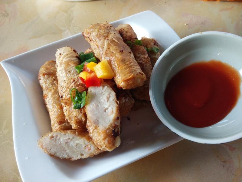 蝦捲─蕃茄醬懶人料理
