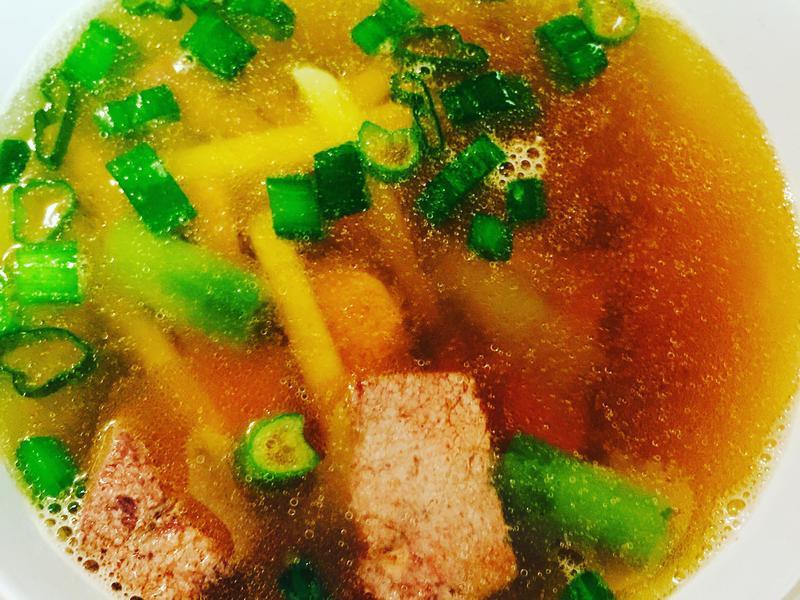 幸福豬肝湯