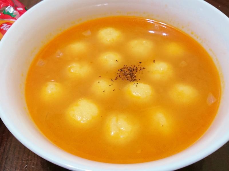 茄汁薯丸子~蕃茄醬懶人料理