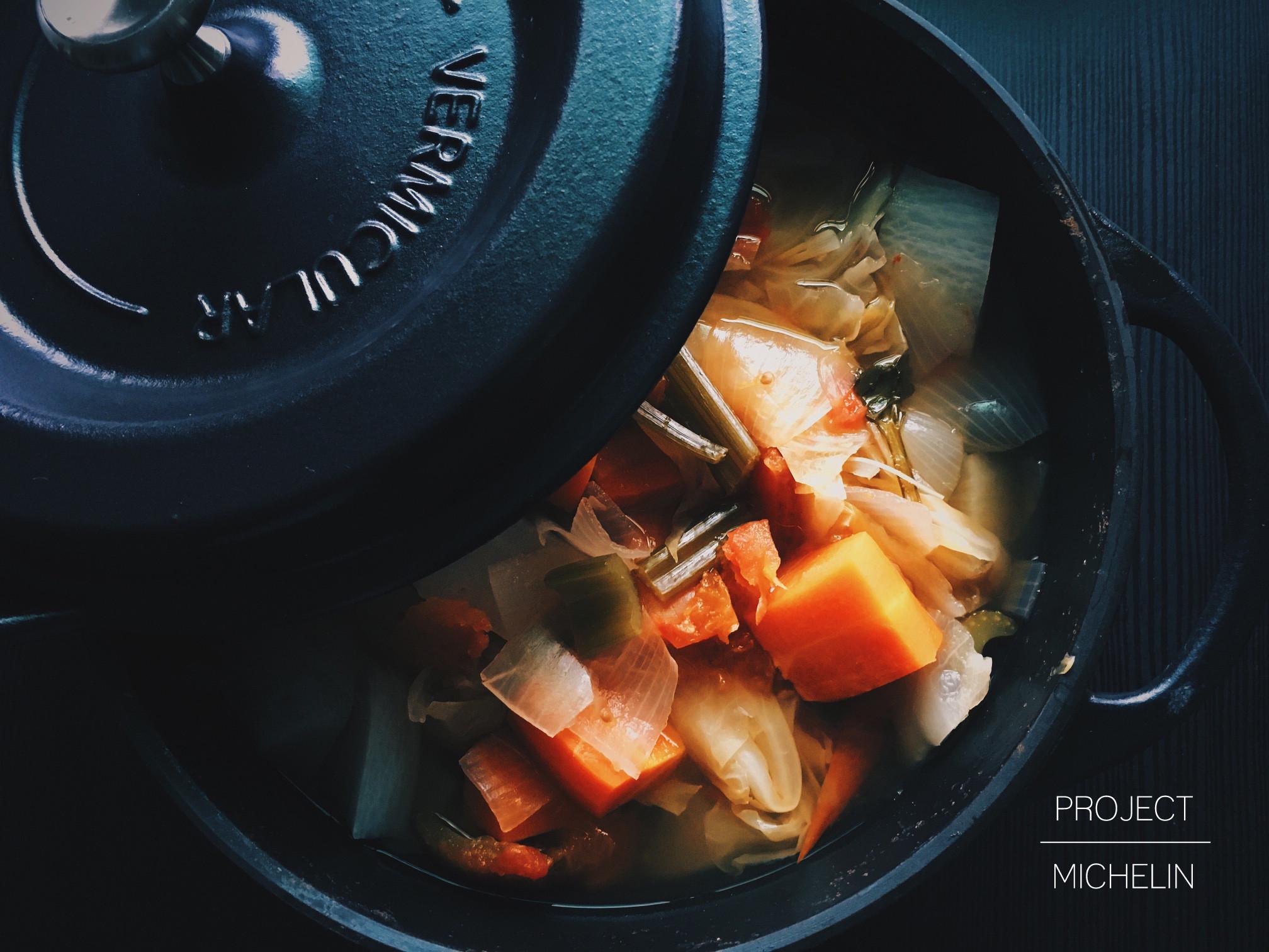 排毒減肥蔬菜湯