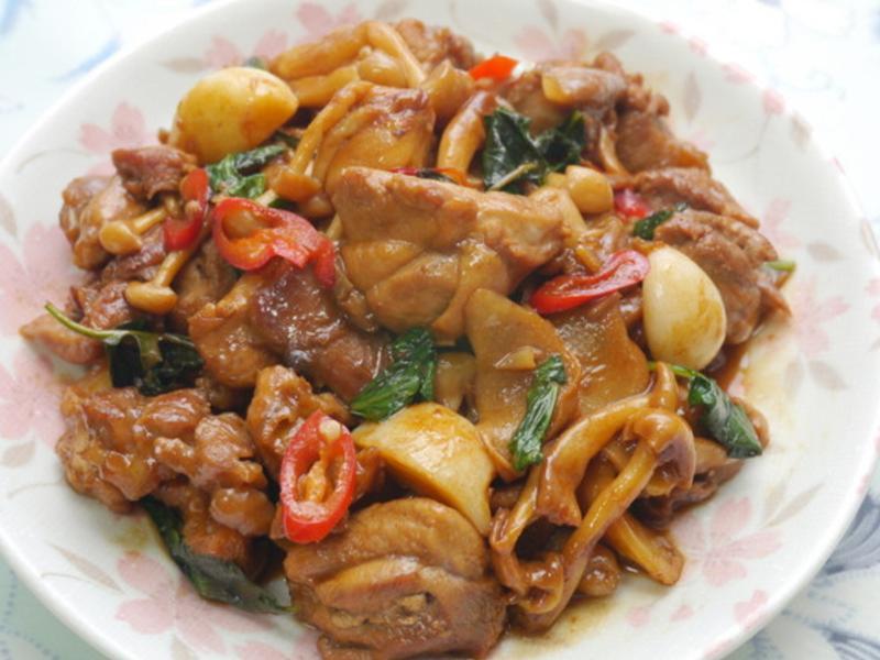 紹興干鍋雞