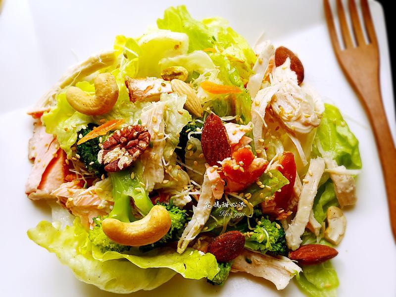 鮮蔬雞肉沙拉