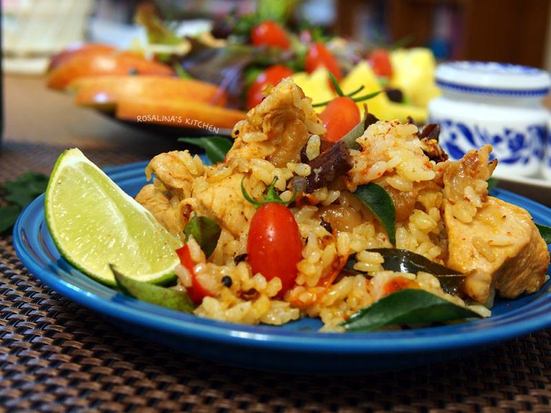印度風香料雞肉燉飯