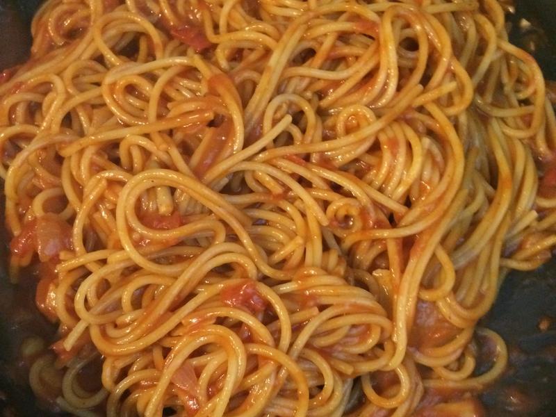 茄汁菇菇義大利麵