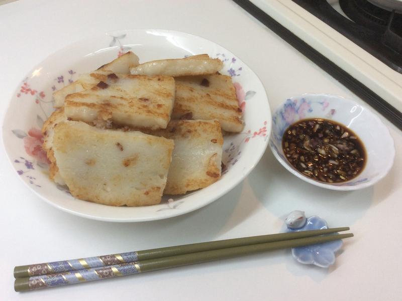 火腿蘿蔔糕(烘焙展中式食譜)