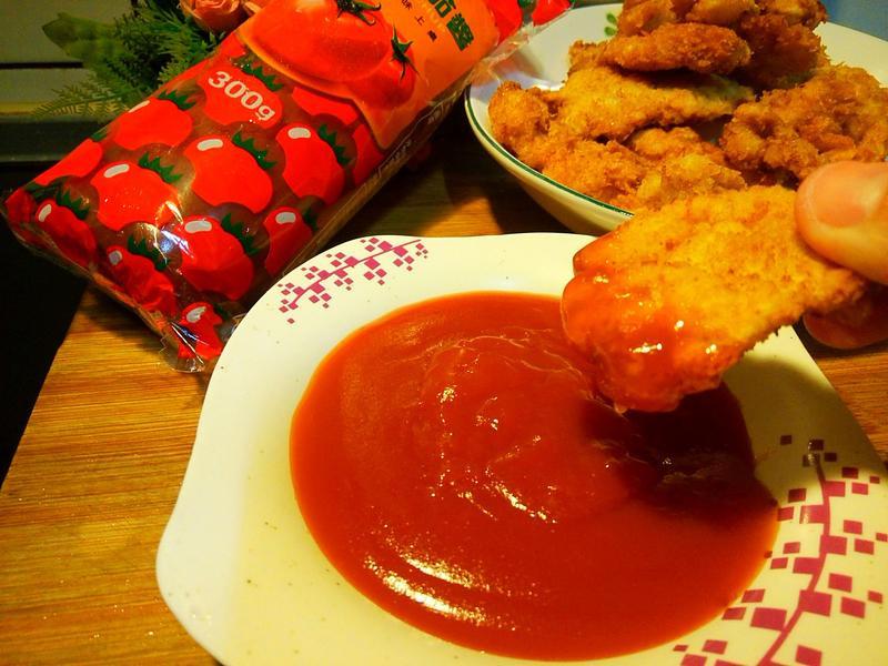 糖醋醬炸雞塊【蕃茄醬懶人料理】