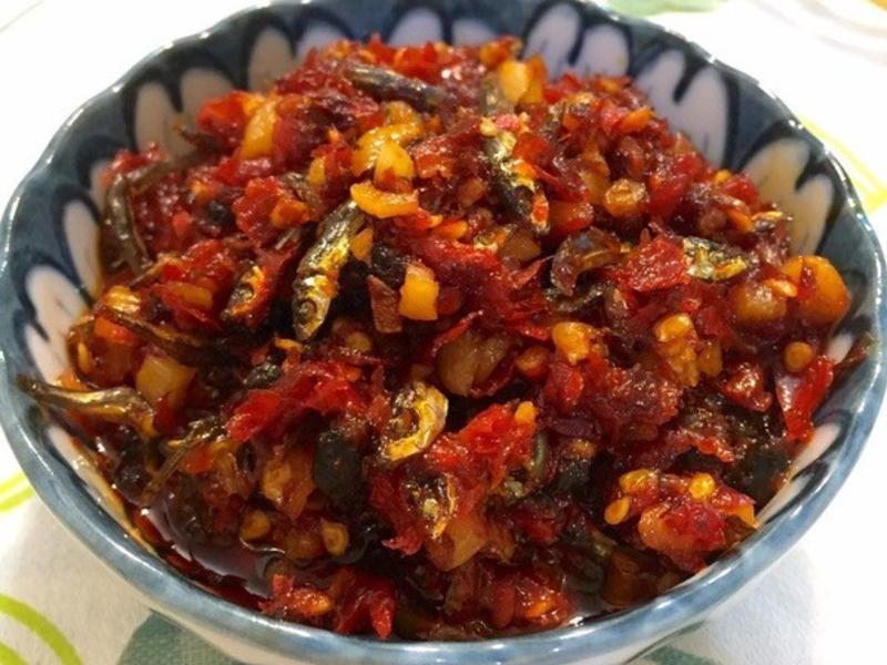 小魚干辣椒醬