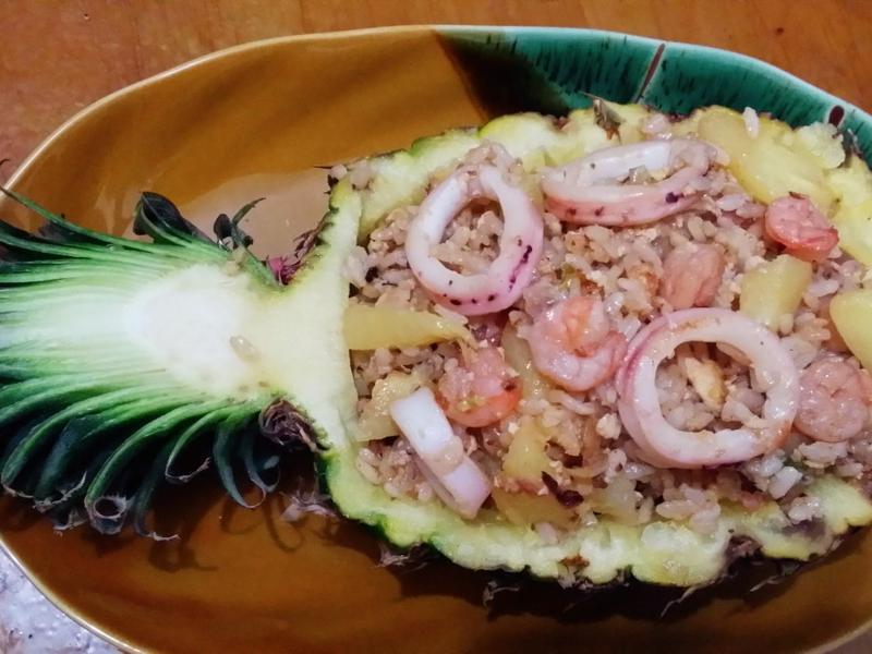 夏威夷海鮮飯鳳梨船【全聯料理王大賽】