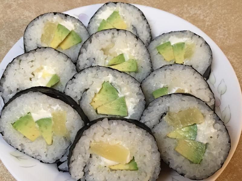 美國人吃的壽司