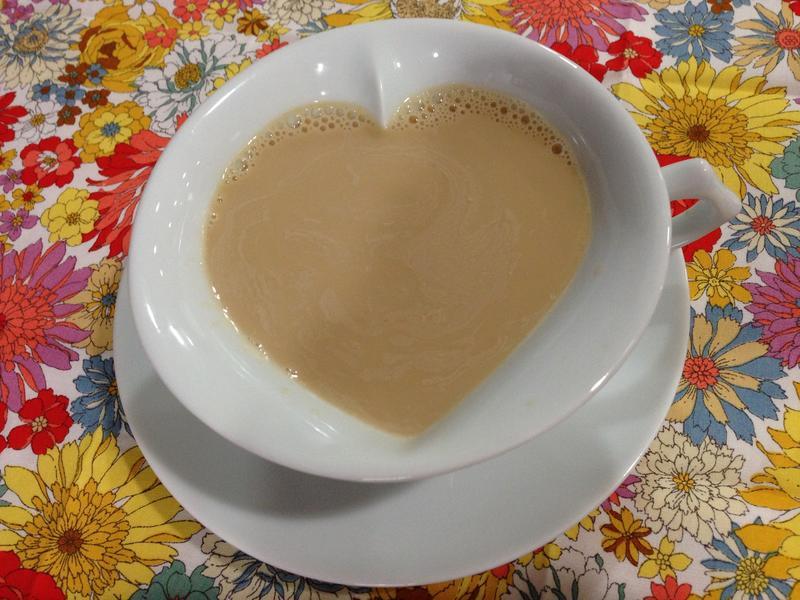 香醇的鍋煮英式奶茶