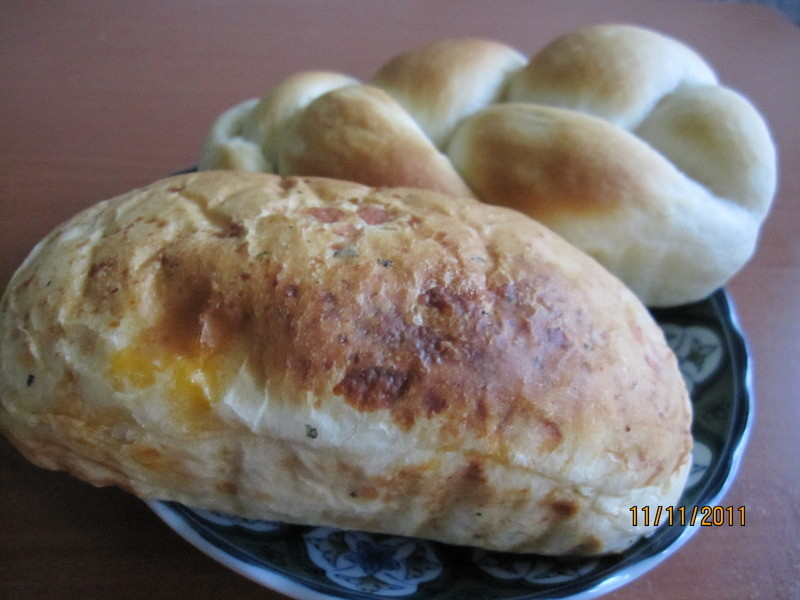羅勒乳酪麵包