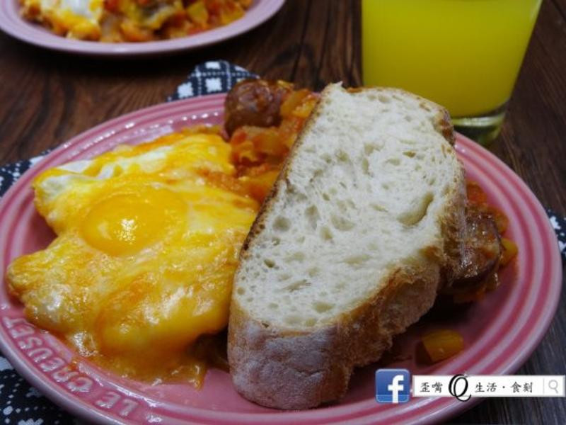 【全聯料理王大賽】國王的早餐~邪惡起司蛋