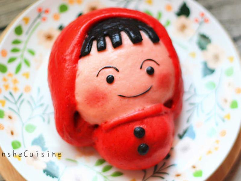 小紅帽造型饅頭