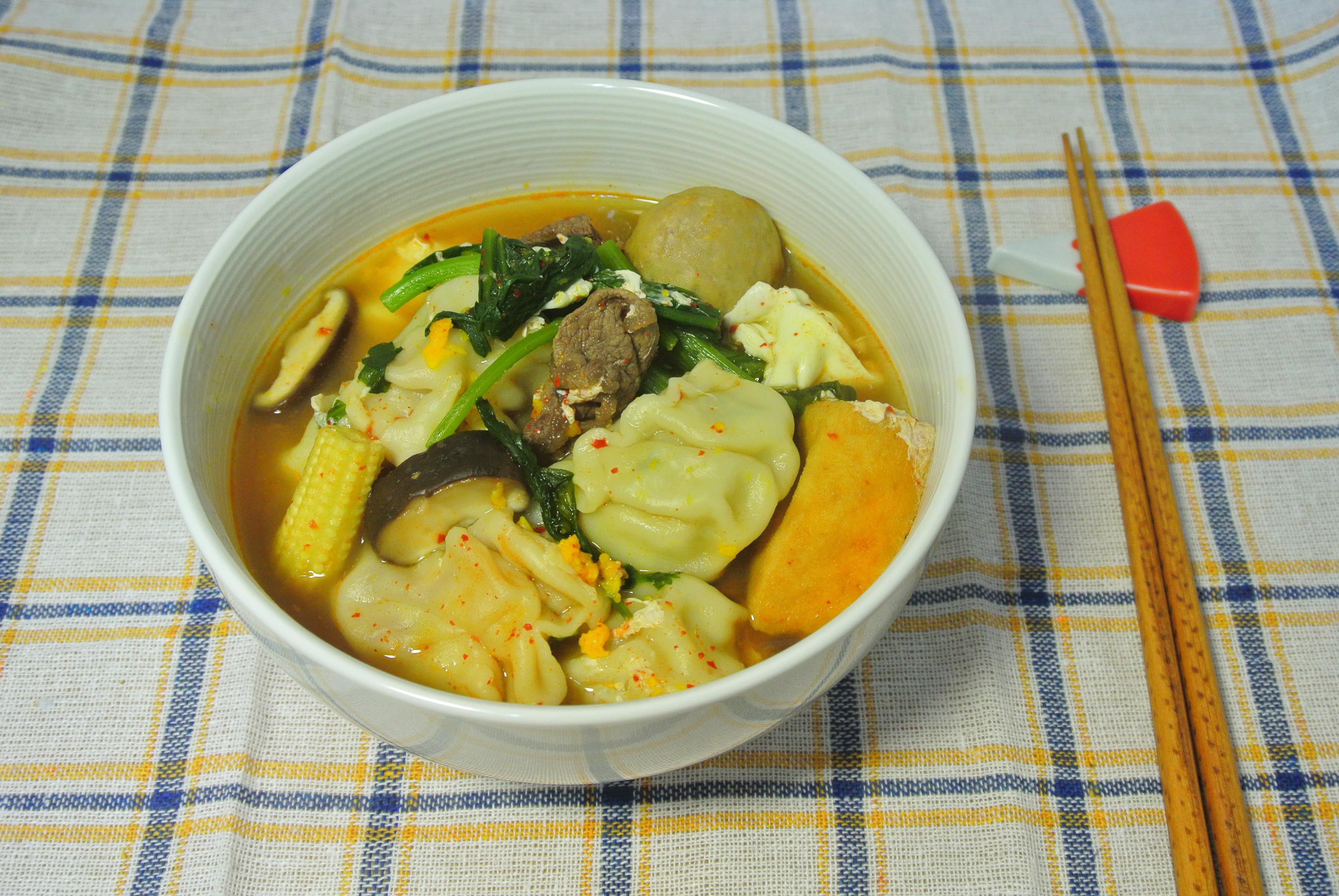 餃子辣湯【外宿料理】