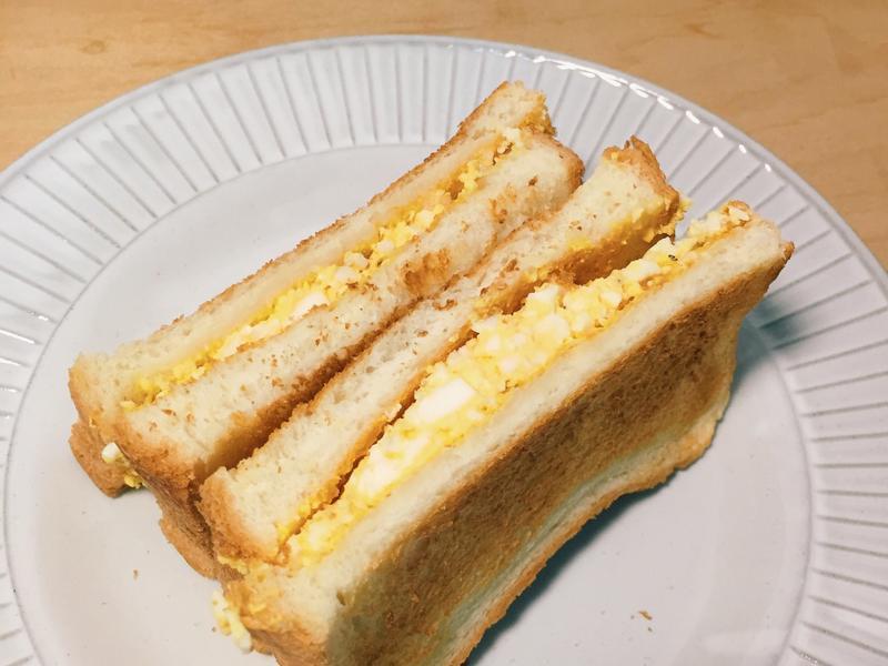 蛋沙拉三明治【外宿料理】