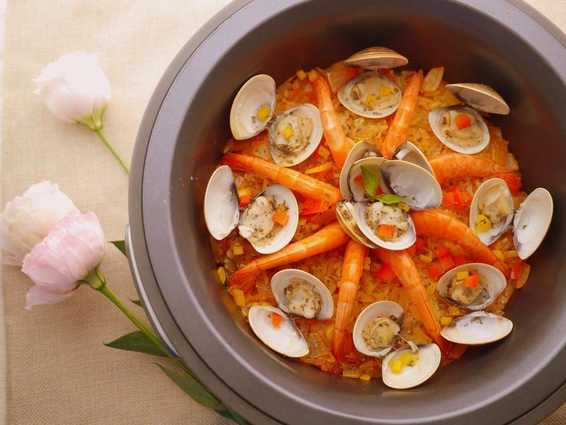 西班牙海鮮燉飯【大同複合料理無水鍋】