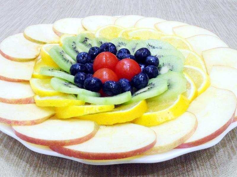 五福臨門水果拼盤