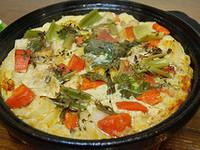 摩洛哥式 嫩雞烤蛋塔吉