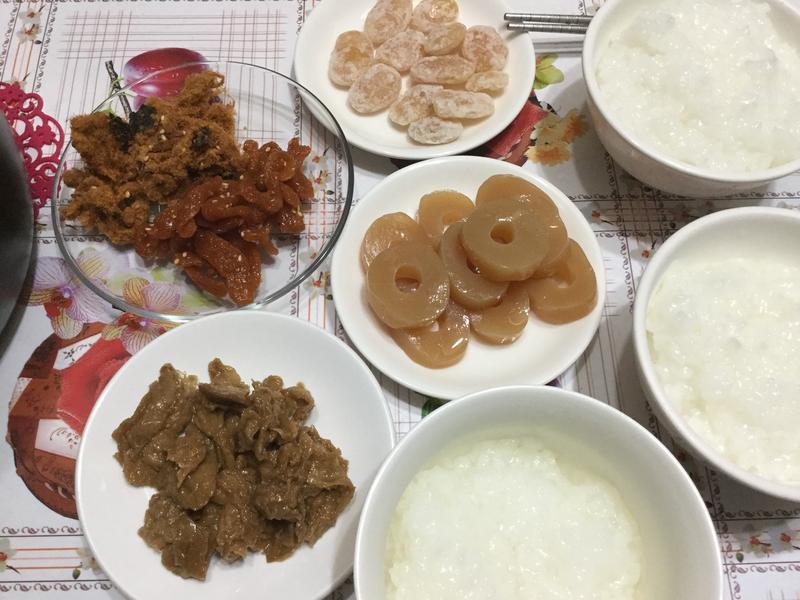10分鐘搞定早餐~清粥小菜(電子鍋預約)