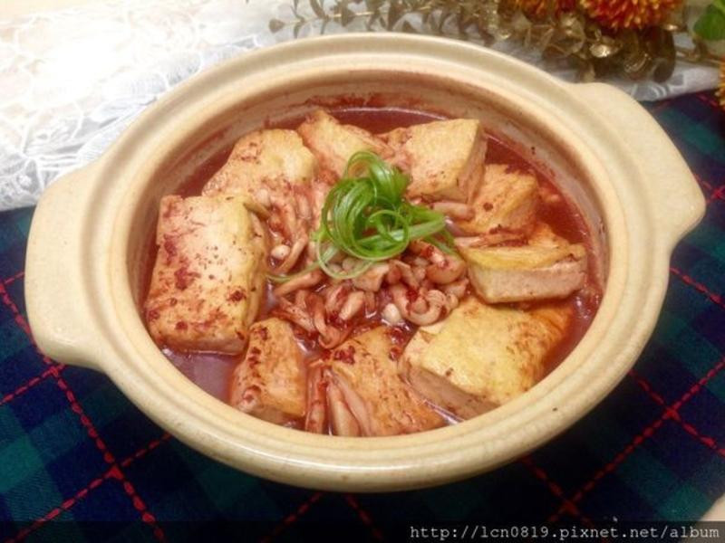 紅糟豆腐煲