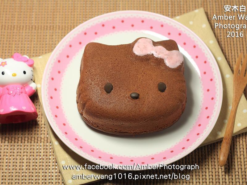 KITTY焦糖蛋糕【烘焙展西式食譜】
