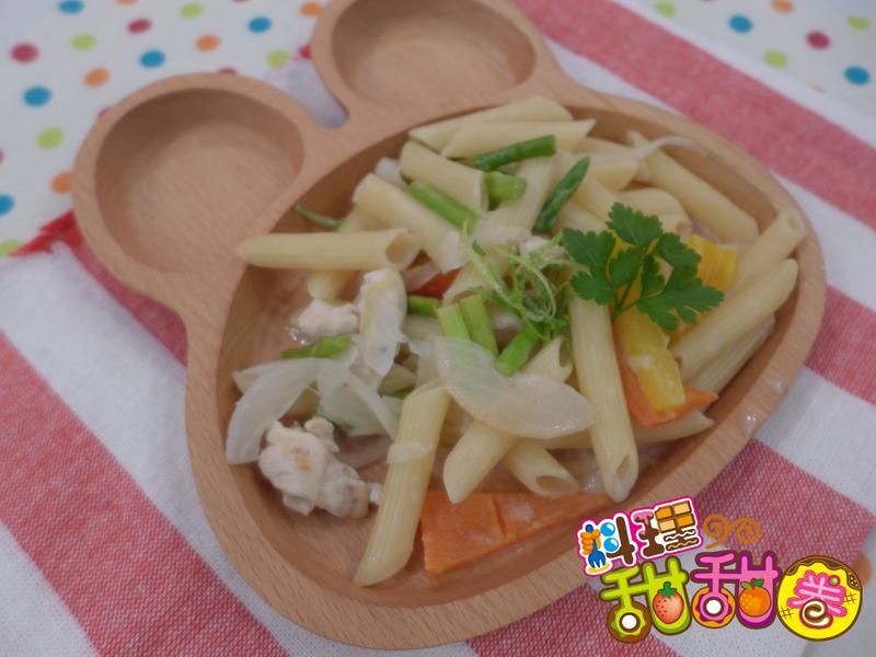 料理甜甜圈【低熱量料理】兔兔義大利麵