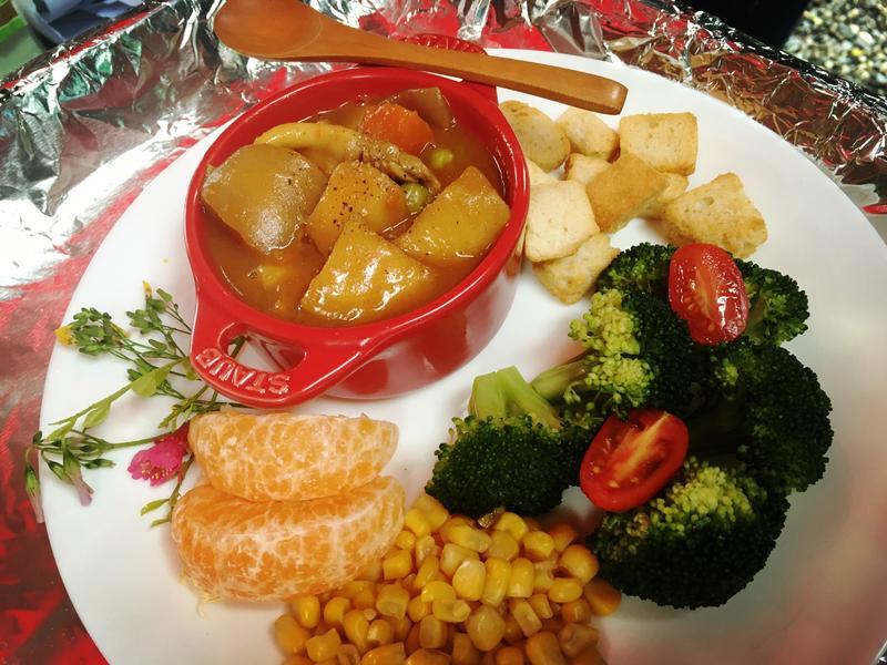 群邑地中海式飲食防失智-香蘋羅勒風味咖喱