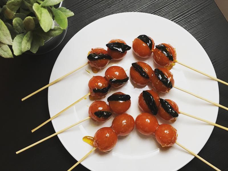 古早味蕃茄蜜餞糖葫蘆