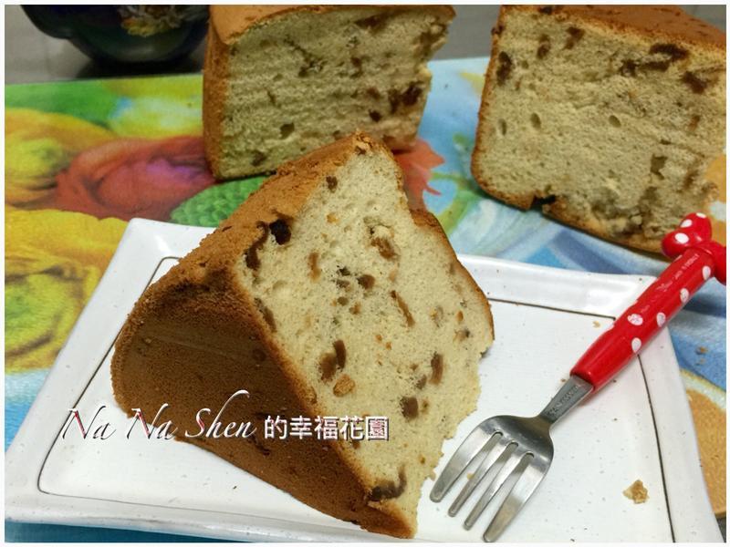 桂圓戚風蛋糕