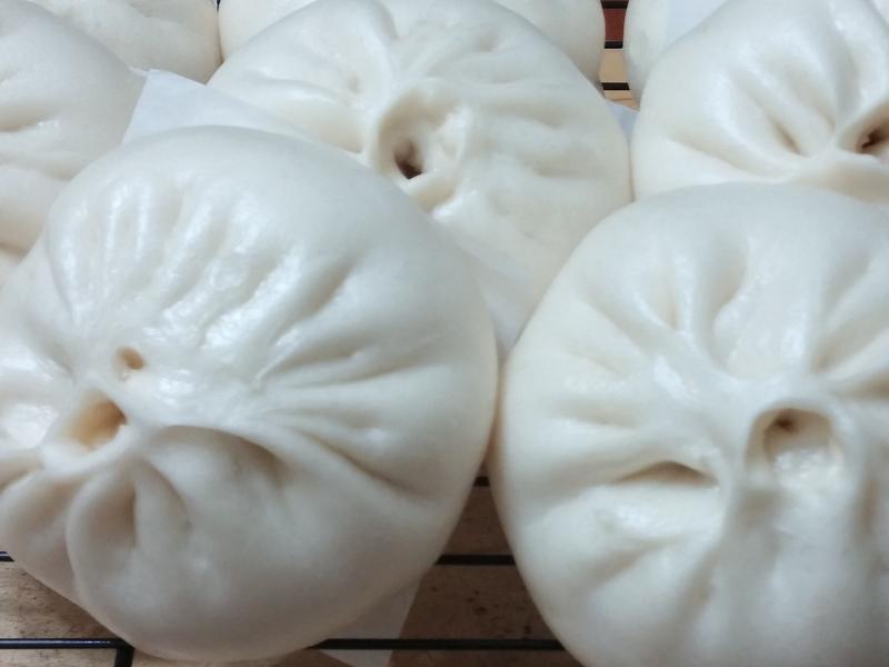 菜肉包子(電鍋蒸包子)