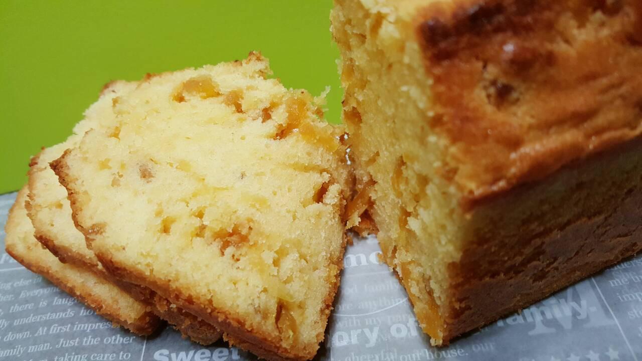 蜜鳳梨果醬磅蛋糕【烘焙展西式食譜】
