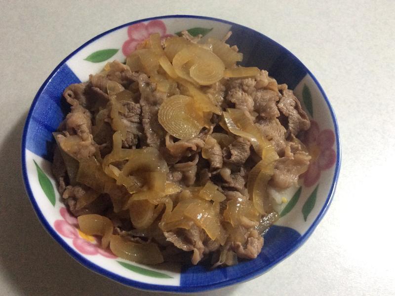 壽喜燒牛丼蓋飯
