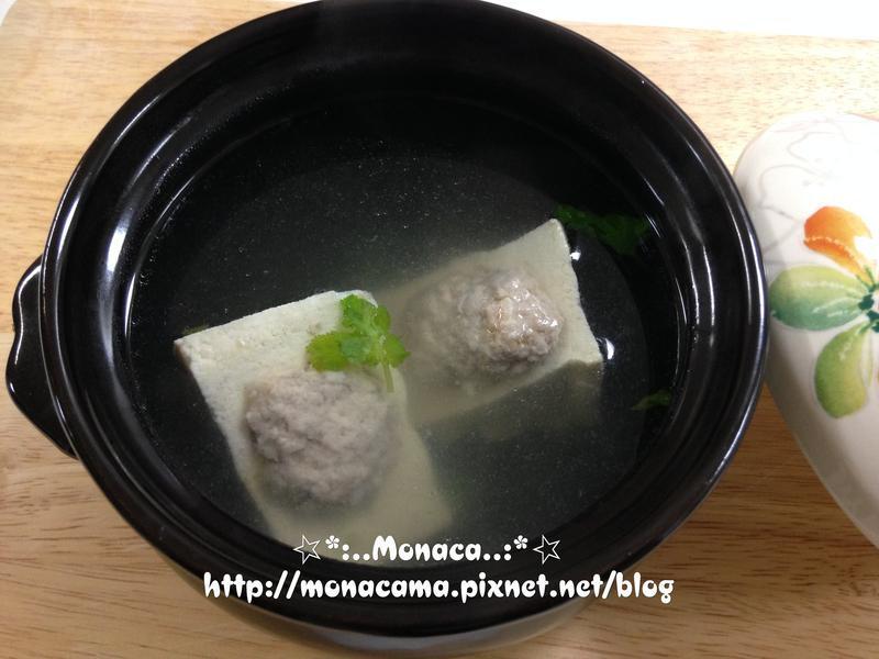 鑲肉豆腐湯