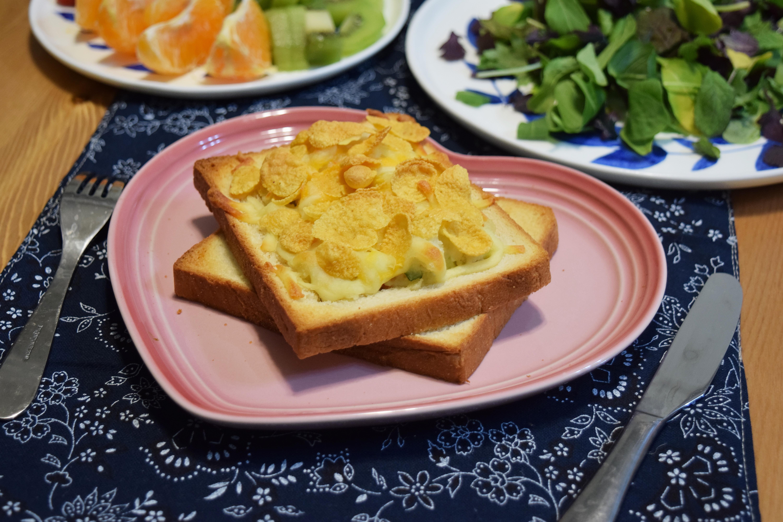 雀巢玉米脆片~玉米脆片焗烤馬鈴薯沙拉
