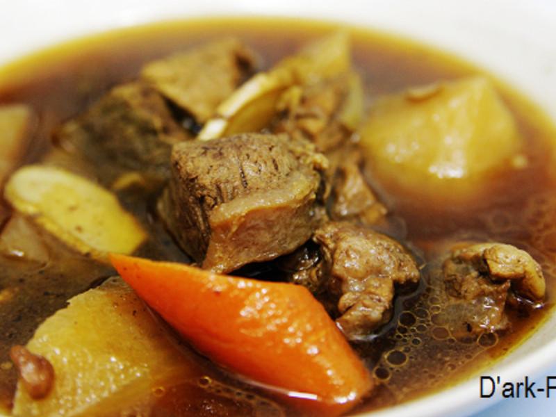 麻油煮牛肉
