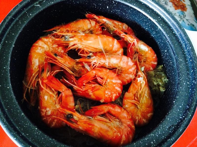 香辣鮮蝦粉絲煲