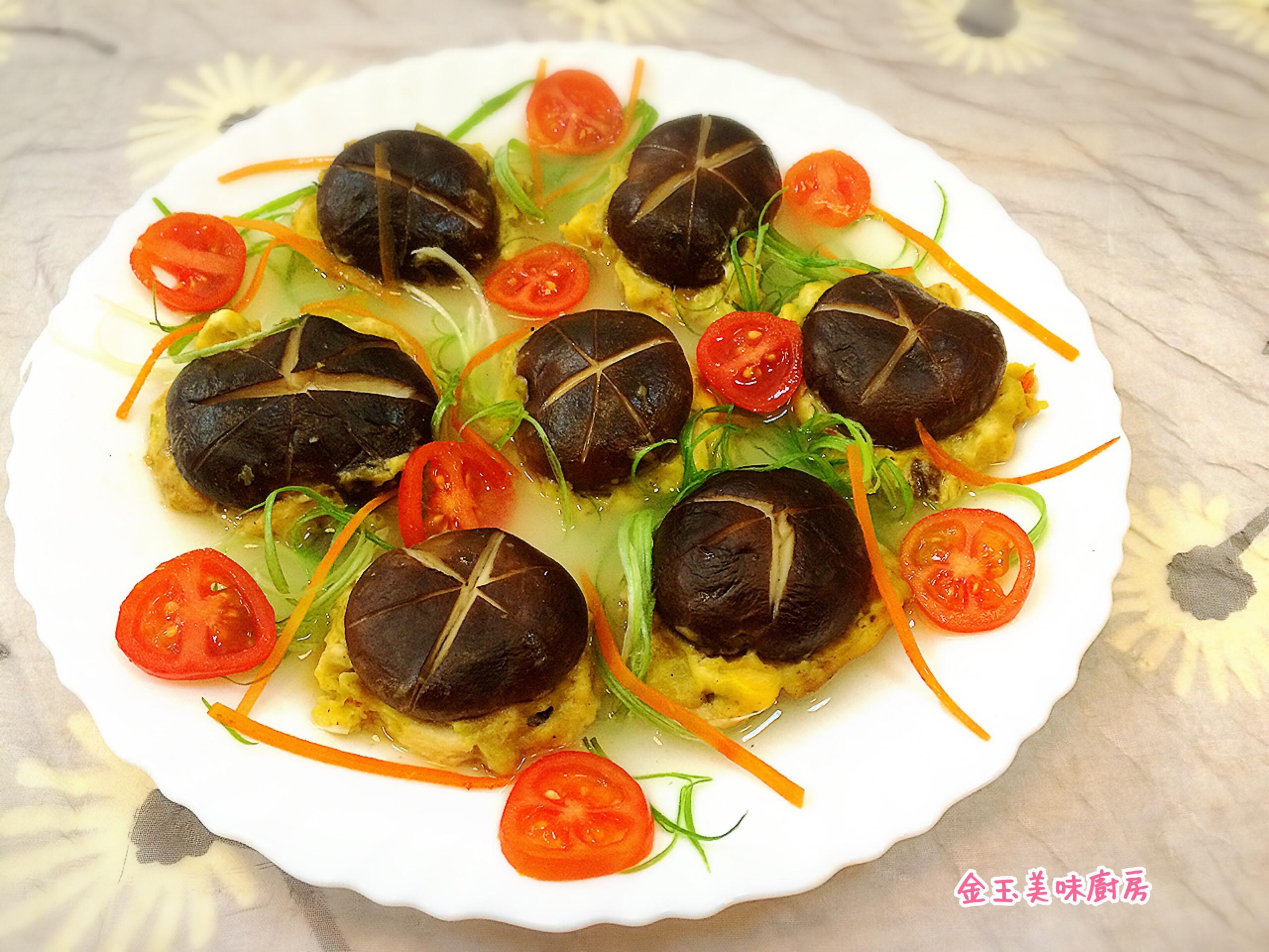 煙火香菇慶佳節[全聯料理王大賽]電鍋烹調