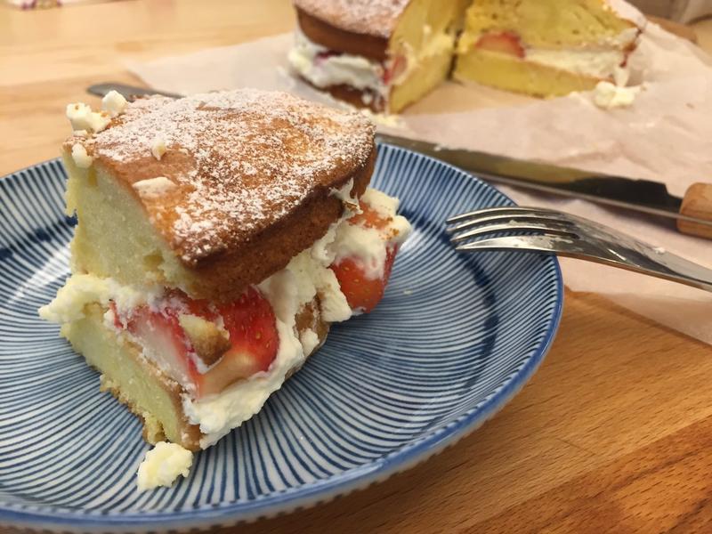 【8吋蛋糕】少女下午茶—維多利亞海綿蛋糕