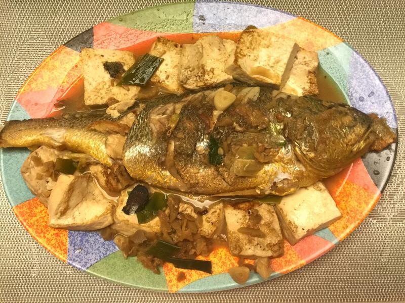 蘿蔔乾燒黃魚豆腐[全聯料理王大賽]