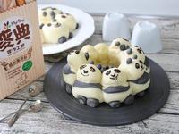 [麥典麵包麵粉]功夫熊貓流沙麵包