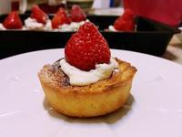 杏仁奶油草莓塔