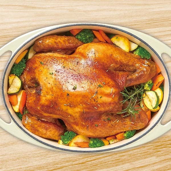 鑄鐵鍋迷迭香烤雞