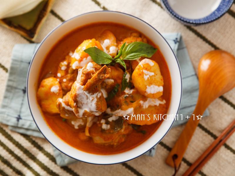 泰式咖哩雞(紅)